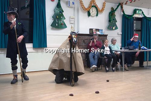 Hooden Horse Christmas play at Nicholas-at-Wade  Thanet Kent 2014. Performance in village hall.