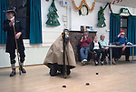 Hooden Horse Christmas play at Nicholas-at-Wade  Thanet Kent 2014. Performance in village hall.
