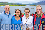Enjoying the All Ireland Regatta from the grounds of the Waterville Lake Hotel were Michael Fleming, Fiona Fenton, Maura Fenton & John Fleming.