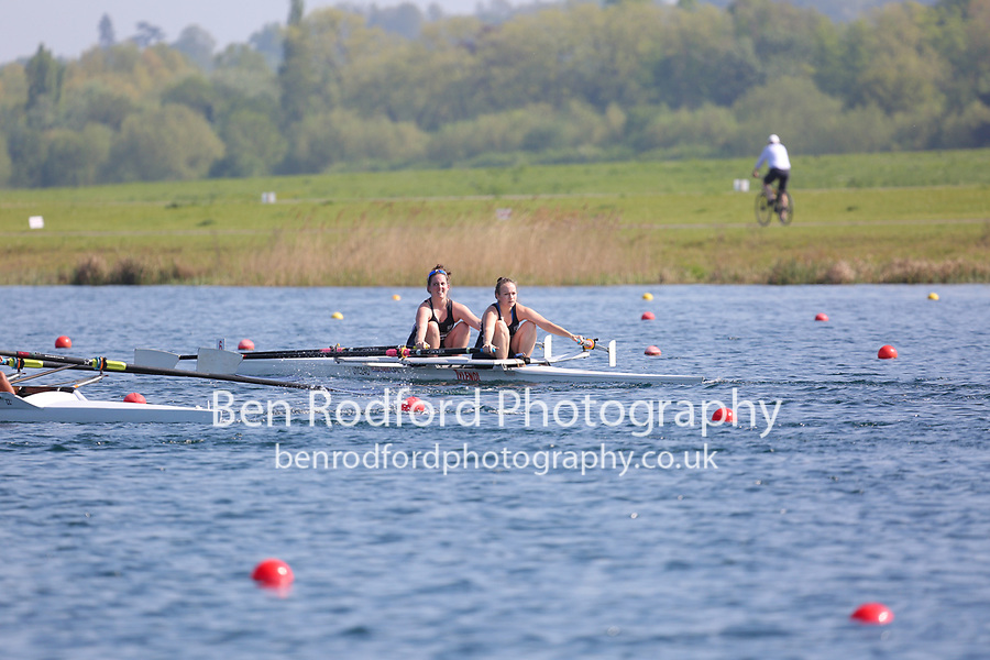 Race: 84  Event: W Club 2x  Heat B<br /> <br /> Wallingford Regatta 2018<br /> <br /> To purchase this photo, or to see pricing information for Prints and Downloads, click the blue 'Add to Cart' button at the top-right of the page.