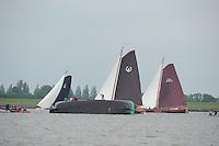 SKUTSJESILEN: LEMMER: Baai van Lemmer, 29-05-2014, Lemmer Ahoy, De Oude Zeug, Koos Lamme,  ©foto Martin de Jong