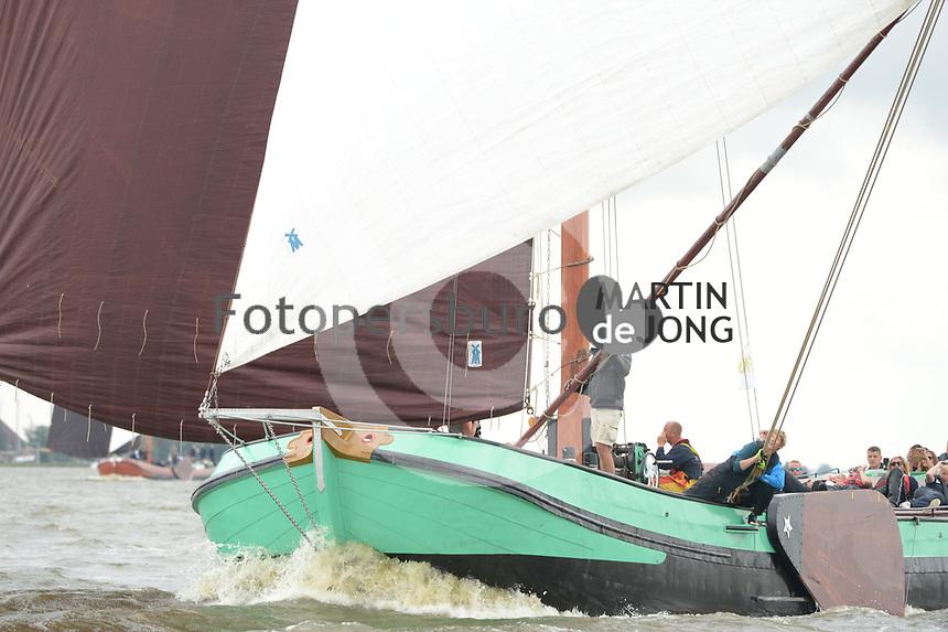 ZEILSPORT: HEEG: 12-08-2019, IFKS Skûtsjesilen, ©foto Martin de Jong