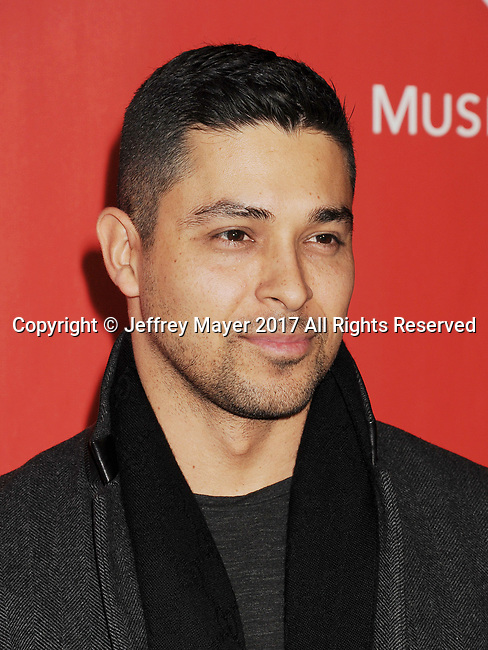 LOS ANGELES, CA - FEBRUARY 10: Actor-singer Wilmer Valderrama attends MusiCares Person of the Year honoring Tom Petty at the Los Angeles Convention Center on February 10, 2017 in Los Angeles, California.