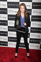 Anna Kendrick attends the Samsung Galaxy Note 10.1 Launch Event in New York City, August 15, 2012. &copy;&nbsp;Diego Corredor/MediaPunch Inc. /NortePhoto.com<br />
