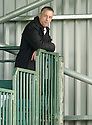 21/04/2007       Copyright Pic: James Stewart.File Name : sct_jspa07_gretna_v_clyde.A SMUG LOOKING ROWAN ALEXANDER ALONE IN THE BACK OF THE STAND OT THE END OF THE GAME.....James Stewart Photo Agency 19 Carronlea Drive, Falkirk. FK2 8DN      Vat Reg No. 607 6932 25.Office     : +44 (0)1324 570906     .Mobile   : +44 (0)7721 416997.Fax         : +44 (0)1324 570906.E-mail  :  jim@jspa.co.uk.If you require further information then contact Jim Stewart on any of the numbers above.........