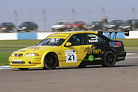 2002 British Touring Car Championship. #21 Gareth Howell (GBR). Team Atomic Kitten. MG ZS.