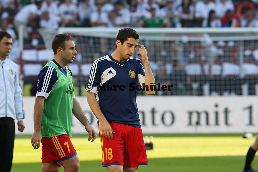 Henrik Mhikitaryan (ARM) - Deutschland vs. Armenien in Mainz