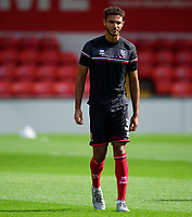Lincoln City's Max Melbourne during the pre-match warm-up<br /> <br /> Photographer Andrew Vaughan/CameraSport<br /> <br /> The EFL Sky Bet League One - Saturday 12th September  2020 - Lincoln City v Oxford United - LNER Stadium - Lincoln<br /> <br /> World Copyright © 2020 CameraSport. All rights reserved. 43 Linden Ave. Countesthorpe. Leicester. England. LE8 5PG - Tel: +44 (0) 116 277 4147 - admin@camerasport.com - www.camerasport.com - Lincoln City v Oxford United