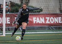 Seattle, WA - Saturday July 16, 2016: Andi Tostanoski during a regular season National Women's Soccer League (NWSL) match between the Seattle Reign FC and the Western New York Flash at Memorial Stadium.