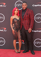10 July 2019 - Los Angeles, California - Yaunna Taylor, Daron Payne. The 2019 ESPY Awards held at Microsoft Theater. Photo Credit: PMA/AdMedia