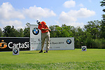 Niclas Fasth (SWE) tees off on the 6th tee during Day 3 of the BMW Italian Open at Royal Park I Roveri, Turin, Italy, 11th June 2011 (Photo Eoin Clarke/Golffile 2011)