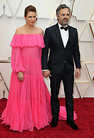 09 February 2020 - Hollywood, California - Sunrise Coigney, Mark Ruffalo. 92nd Annual Academy Awards presented by the Academy of Motion Picture Arts and Sciences held at Hollywood & Highland Center. Photo Credit: AdMedia