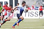 Katsuyuki Sakai (JPN), <br /> AUGUST 30, 2018 - Rugby : <br /> Men's Group B match <br /> between Japan 92-0 Idonesia <br /> at Gelora Bung Karno Rugby Field <br /> during the 2018 Jakarta Palembang Asian Games <br /> in Jakartan, Idonesia. <br /> (Photo by Naoki Morita/AFLO SPORT)