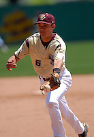 Boston College Eagles INF Matt Hamlet in action vs. NC Tar Heels at Shea Field March 28, 2009 in Chestnut Hill, MA (Photo by Ken Babbitt/Four Seam Images)