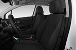 Front seat view of a 2020 Chevrolet Trax LS 5 Door SUV front seat car photos