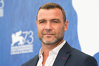 Liev Schreiber  at the photocall for The Bleeder at the 2016 Venice Film Festival.<br /> September 2, 2016  Venice, Italy<br /> CAP/KA<br /> &copy;Kristina Afanasyeva/Capital Pictures /MediaPunch ***NORTH AND SOUTH AMERICAS ONLY***