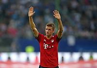 15.08.2018, Football  2018/2019, pre season friendly, Hamburger SV - FC Bayern Muenchen, Volksparkstadium Hamburg. celebration  Thomas Mueller (Bayern Muenchen)  *** Local Caption *** © pixathlon