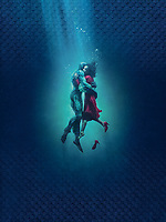 The Shape of Water (2017) <br /> Promotional art with Sally Hawkins &amp; Doug Jones<br /> *Filmstill - Editorial Use Only*<br /> CAP/MFS<br /> Image supplied by Capital Pictures