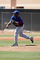 Elizardo Ramirez  -Texas Rangers - 2009 spring training.Photo by:  Bill Mitchell/Four Seam Images