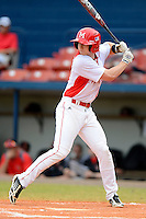 Miami Redhawks outfielder Matt Honchel #16 during a game against the Illinois State Redbirds at Chain of Lakes Stadium on March 9, 2013 in Winter Haven, Florida.  Miami defeated Illinois State 4-2.  (Mike Janes/Four Seam Images)