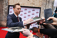 Tom Hiddlestone<br /> arriving for the Empire Film Awards 2017 at The Roundhouse, Camden, London.<br /> <br /> <br /> &copy;Ash Knotek  D3243  19/03/2017