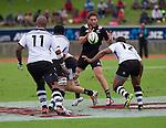 Tawera Kerr-Barlow. Maori All Blacks vs. Fiji. Suva. MAB's won 27-26. July 11, 2015. Photo: Marc Weakley