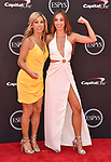 LOS ANGELES, CA - JULY 18: Denise Austin (L) and Katie Austin attend the 2018 ESPYS at Microsoft Theater at L.A. Live on July 18, 2018 in Los Angeles, California.