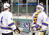 Paul Steinig (Williams - 4), Sam Kurland (Williams - 30) - The Williams College Ephs defeated the Trinity College Bantams 4-2 (EN) on Tuesday, January 7, 2014, at Fenway Park in Boston, Massachusetts.