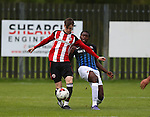 Stephen Mallon of Sheffield Utd during the U23 Professional Development League Two match at the Local Look Stadium, Sheffield. Picture date: September 26th, 2016. Pic Simon Bellis/Sportimage