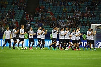 Mannschaft von Neuseeland bedankt sich bei den Fans - 21.06.2017: Mexiko vs. Neuseeland, Fisht Stadium Sotschi