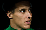 Cristian Tello Herrera of Real Betis prior the La Liga 2017-18 match between Real Madrid and Real Betis at Estadio Santiago Bernabeu on 20 September 2017 in Madrid, Spain. Photo by Diego Gonzalez / Power Sport Images