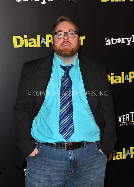 WWW.ACEPIXS.COM<br /> <br /> April 7, 2015, LA<br /> <br /> Aral Gribble arriving at the 'Dial A Prayer' premiere at the Landmark Theater on April 7, 2015 in Los Angeles, California.<br /> <br /> By Line: Peter West/ACE Pictures<br /> <br /> <br /> ACE Pictures, Inc.<br /> tel: 646 769 0430<br /> Email: info@acepixs.com<br /> www.acepixs.com
