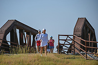 Maria Fassi (MEX) makes her way across the bridge near the tee on 2 during the round 3 of the Volunteers of America Texas Classic, the Old American Golf Club, The Colony, Texas, USA. 10/5/2019.<br /> Picture: Golffile   Ken Murray<br /> <br /> <br /> All photo usage must carry mandatory copyright credit (© Golffile   Ken Murray)