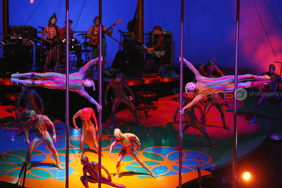 NO REPRO FEE. 7/7/2010. A scene from the Cirque De Soleil, Saltimbanco opening night at the O2 Dublin. For more info contact www.mcd.ie. Picture James Horan/Collins Photos
