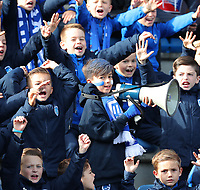 20191023 - Genk: Young KRC Genk supporters are pictured during the UEFA Youth League group stages match between KRC Genk Youth and Liverpool FC on October 23, 2019 at KRC Genk Stadium Arena B, Genk, Belgium. PHOTO:  SPORTPIX.BE   SEVIL OKTEM