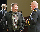 ?, Major General Karl Horst - The 2012 Hobey Baker Award ceremony was held at MacDill Air Force Base on Friday, April 6, 2012, in Tampa, Florida.