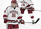 Ryan Donato (Harvard - 16) - The Harvard University Crimson defeated the Dartmouth College Big Green 5-2 to sweep their weekend series on Sunday, November 1, 2015, at Bright-Landry Hockey Center in Boston, Massachusetts. -