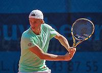 September 03, 2014,Netherlands, Alphen aan den Rijn, TEAN International, Arthur de Greef (BEL)<br /> Photo: Tennisimages/Henk Koster