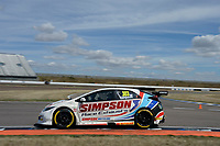 #303 Matt Simpson WIX Racing with Eurotech Honda Civic Type R (FK2) during BTCC Practice  as part of the Dunlop MSA British Touring Car Championship - Rockingham 2018 at Rockingham, Corby, Northamptonshire, United Kingdom. August 11 2018. World Copyright Peter Taylor/PSP. Copy of publication required for printed pictures.