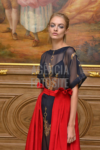 Londres, Inglaterra &sbquo;09/2014 - Desfile de Natasha Zinko durante a Semana de moda de Londres  -  Verao 2015. <br /> <br /> Foto: FOTOSITE