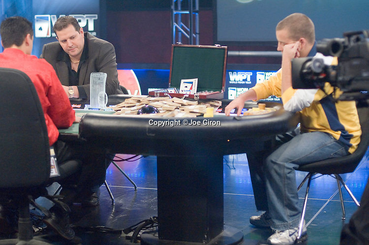 Final two in heads up play.