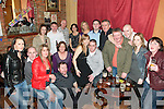 30th Birthday Bash: Cliff Nolan (seated centre), Lisahane, Listowel, celebrating his 30th birthday witha family & friends at The Racecourse Bar in Listowel on Friday night.