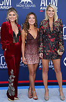 07 April 2019 - Las Vegas, NV - Runaway June. 54th Annual ACM Awards Arrivals at MGM Grand Garden Arena. Photo Credit: MJT/AdMedia<br /> CAP/ADM/MJT<br /> &copy; MJT/ADM/Capital Pictures