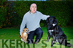Sean Whelan with his 2 dogs