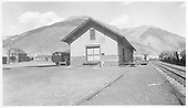 D&amp;RGW Silverton depot south end in late 1930s or early 1940s.<br /> D&amp;RGW  Silverton, CO  1937-1943
