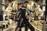 Independence Day (1996) <br /> Will Smith &amp; Jeff Goldblum<br /> *Filmstill - Editorial Use Only*<br /> CAP/KFS<br /> Image supplied by Capital Pictures