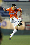 19 April 2014: Carolina's Daniel Scott. The Carolina RailHawks played the Fort Lauderdale Strikers at WakeMed Stadium in Cary, North Carolina in a 2014 North American Soccer League Spring Season match. Carolina won the game 4-1.