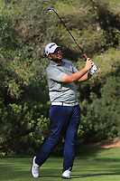Jack Senior (ENG) on the 5th tee during Round 3 of the Challenge Tour Grand Final 2019 at Club de Golf Alcanada, Port d'Alcúdia, Mallorca, Spain on Saturday 9th November 2019.<br /> Picture:  Thos Caffrey / Golffile<br /> <br /> All photo usage must carry mandatory copyright credit (© Golffile | Thos Caffrey)