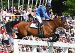 02.06.2019,  GER;  Deutsches Spring- und Dressur-Derby, 90. Deutsches Spring-Derby, im Bild Christian Ahlmann (GER) auf Atomic  Foto © nordphoto / Witke