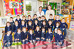 The junior infants of Spa NS with teacher Valerie Linehan and SNA Roisin O'Sullivan. Students pictured Muiris Stack, Conor Stack, Cian Slattery, Eoin Reilly, Jessica Reen, Adam O'Donnell, Ciara O'Connell, Fiadh Nelan, Eamonn McElligott, Ella McCarthy, Alexis McMahon, Calum Lacey, Zach Kearney, Erin Harty, Sadhbh Griffin, Maria Gilroy, Shea Gilligan, Isla Fegan, Emma Dennehy, Kate Deasy, Charlie Curran, Aoibhinn Corridon, Clodgh Buckley, Isabelle Belton, Fiadh Barry, Adriana Araiza